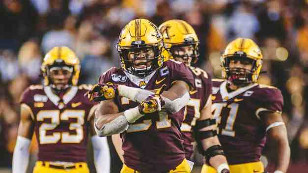 Gophers Selected to Outback Bowl to Play Auburn