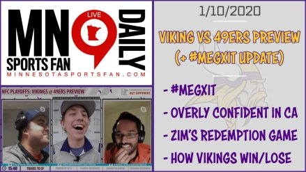 Vikings @ 49ers Divisional Round Preview – MSF Daily – LIVE | 1/10/2020