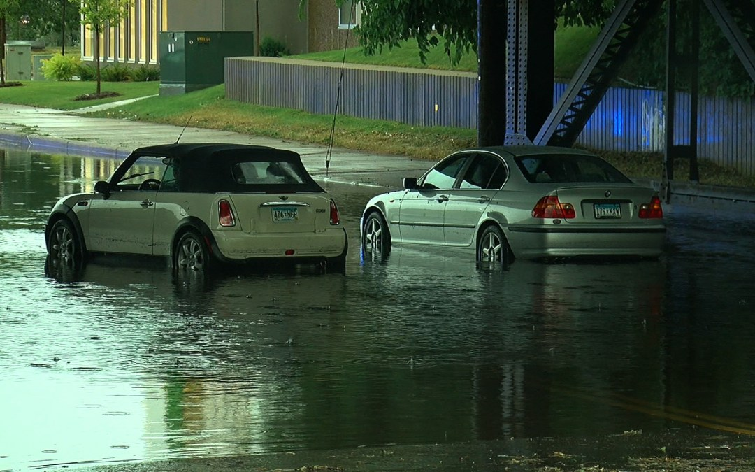 Flash Floods Take Minneapolis Drivers By Surprise