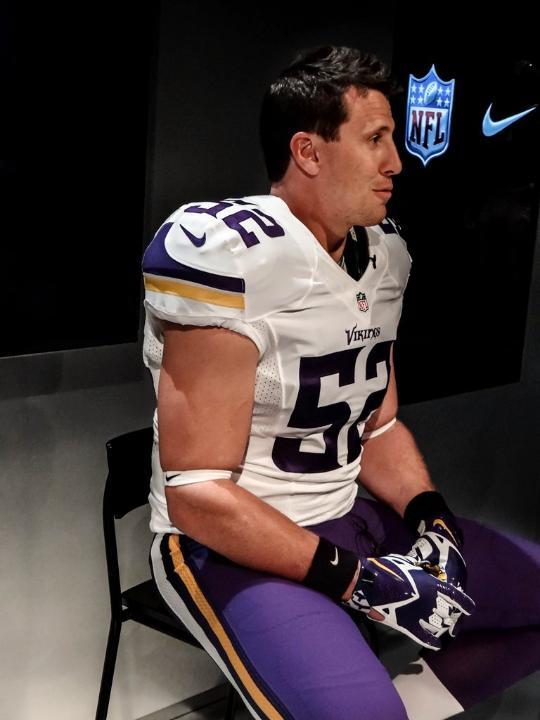 New Minnesota Vikings Uniforms Side