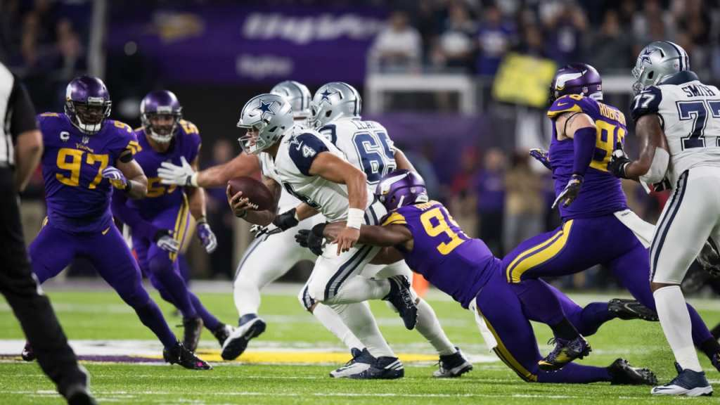 Photo: Dallas Cowboys vs Minnesota Vikings