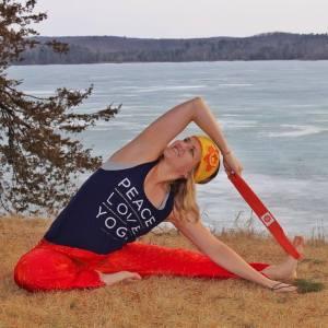 minnesota yogini  product review  zen yoga strap