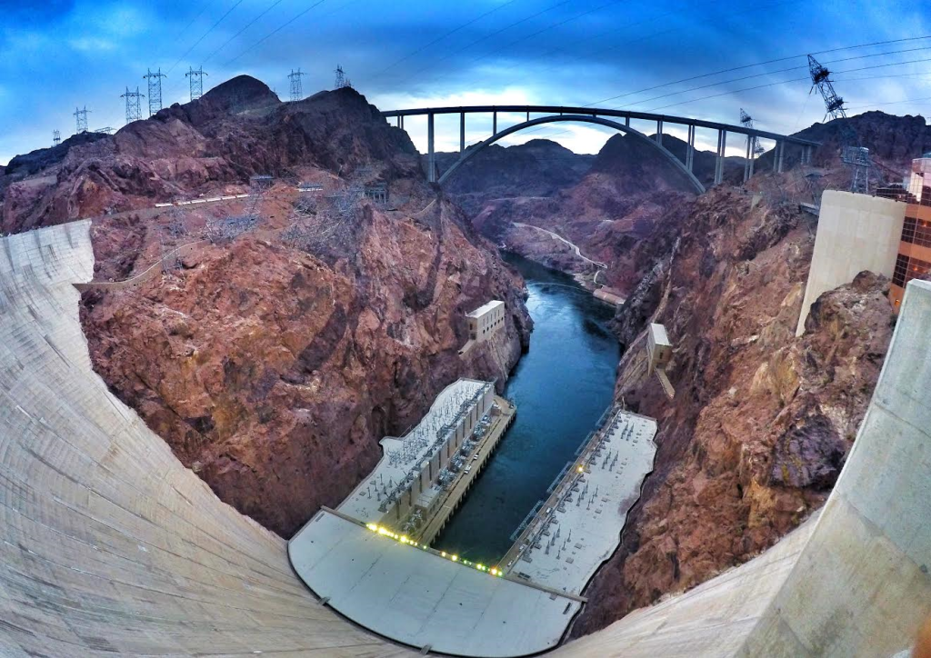 Hoover Dam with GoPro