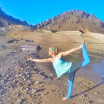 yoga on Lake Mead
