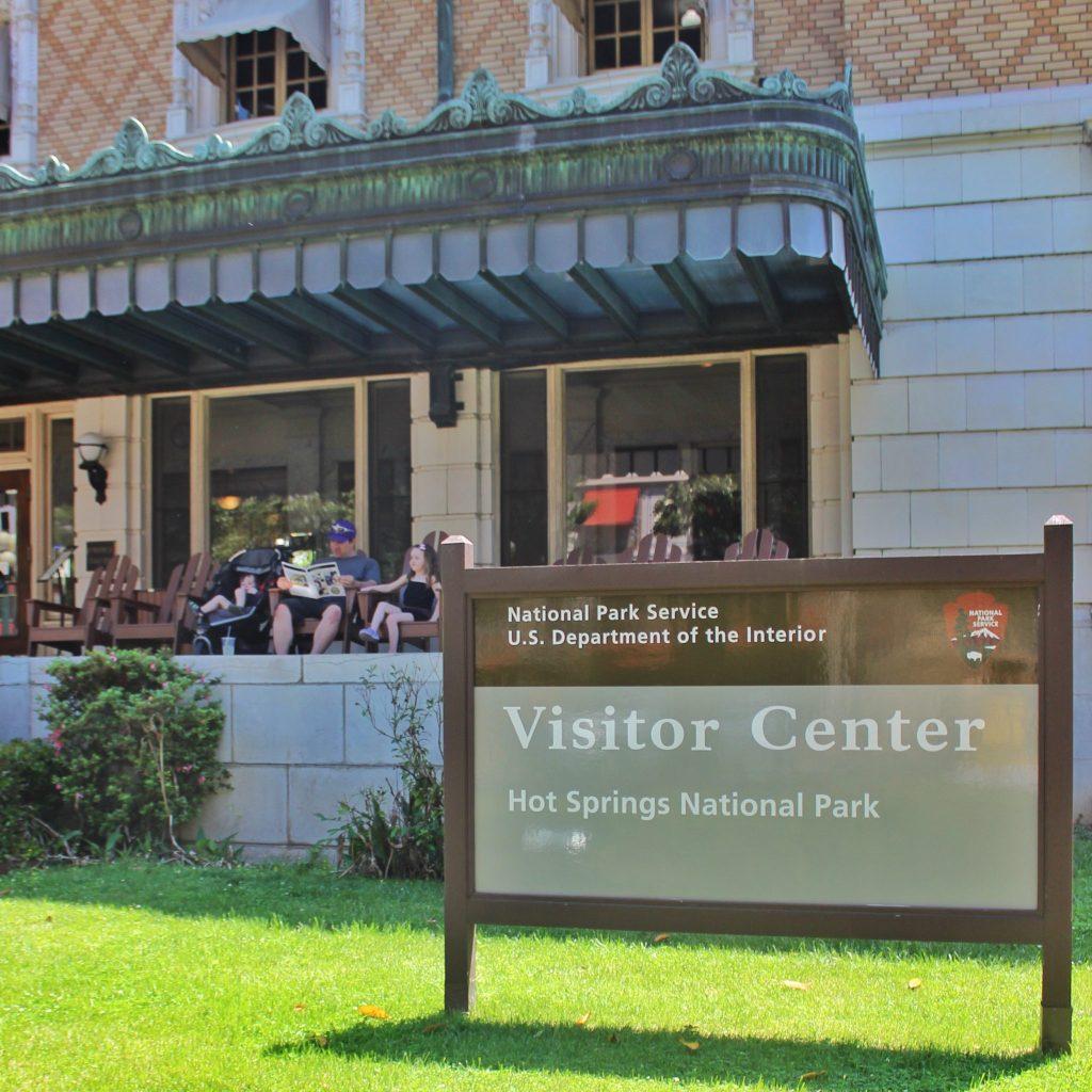 visitor center hot springs