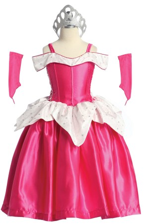 Princess Aurora costume for girls birthday parties