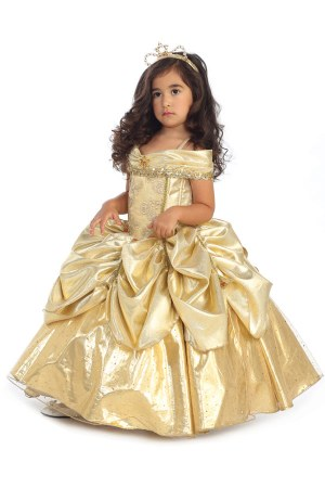 Belle dress for girls from sleeping beauty
