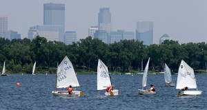 Lake Calhoun in Minneapolis. (AP file photo)