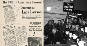 LUCY LAWSON poster front