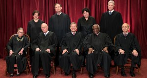 In this June 1, 2017, file photo, the justices of the U.S. Supreme Court gather for an official group portrait to include then-new Associate Justice Neil Gorsuch, top row, far right, at the Supreme Court Building in Washington. Seated, from left are, Associate Justice Ruth Bader Ginsburg, Associate Justice Anthony M. Kennedy, Chief Justice John Roberts, Associate Justice Clarence Thomas, and Associate Justice Stephen Breyer. Standing, from left are, Associate Justice Elena Kagan, Associate Justice Samuel Alito Jr., Associate Justice Sonia Sotomayor, and Associate Justice Neil Gorsuch. Kennedy, 81, said Tuesday that he is retiring after more than 30 years on the court. (AP file photo)