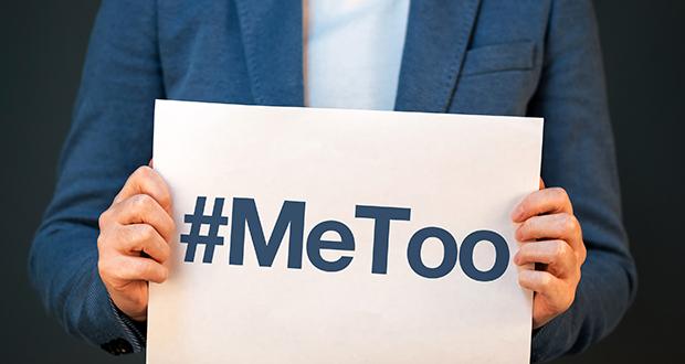 Hashtag MeToo conceptual image