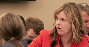 Rep. Kelly Moller, DFL-Shoreview, said she supports forfeiture reform. But a task force is needed, she said, to get insights from opponents of the original bill's implementation plan. (Staff photo: Kevin Featherly)