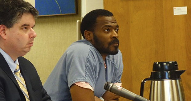 In this July 2016, file photo, Olan Williams listens during a hearing in a Multnomah County courtroom in Portland, Oregon. Williams was convicted of a felony by a nonunanimous jury. Oregon is the only state in America that allows nonunanimous jury convictions. (AP file photo: The Oregonian)