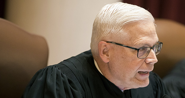 Minnesota Supreme Court Associate Justice and former U.S. Attorney David Lillehaug said he'll retire next year because of Parkinson's disease. (AP file photo via Star Tribune)