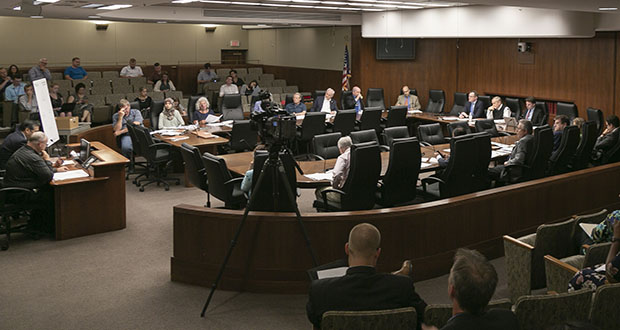 The House Subcommittee on Legislative Process Reform convened its first 2019 meeting on July 10. (Staff photo: Kevin Featherly)