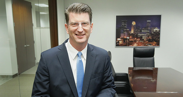 Justin Cummins, a partner in the Cummins & Cummins law firm in Minneapolis, says worker exploitation appears to be a systemic problem. (Photo: Bill Klotz, special to Finance & Commerce)