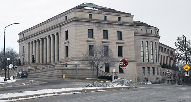 The Minnesota State Supreme Court Building is shown in this Jan. 10, 2020 photo in St. Paul, Minn. (AP Photo/Jim Mone)