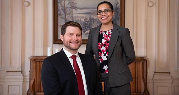 Jacob Campion and Janine Kimble