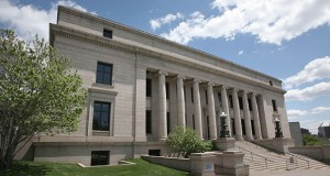 The installation of a metal detector and an X-ray machine in the Minnesota Judicial Center will be part of an ongoing, $10 million security upgrade at several Capitol campus buildings. (File photo)
