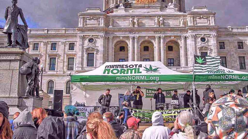 Minnesota NORML on 420 at the Capitol in St. Paul