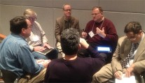 Clockwise l-r: Tim Elliott; Graeme Thickins; Phil Wilson; Steve Borsch; Albert Maruggi; Julio Ojeda-Zapata