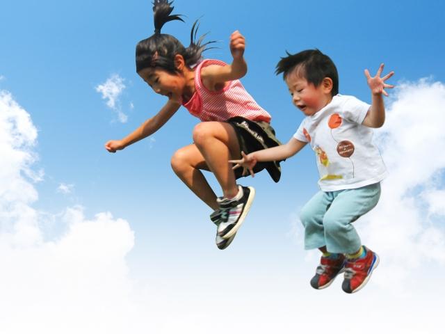 幼児ジャンプ