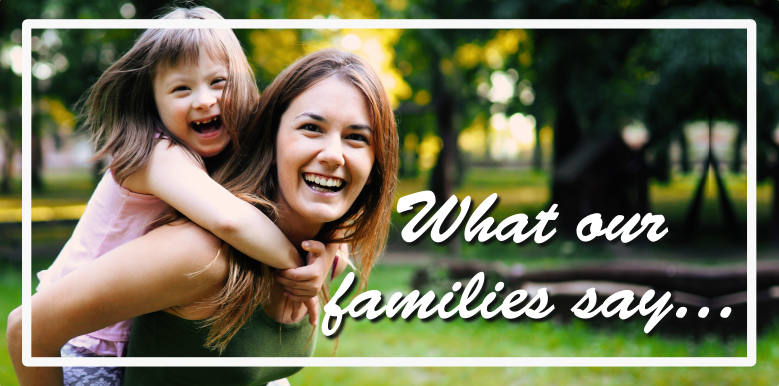 what our families say