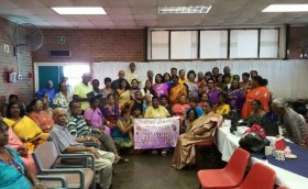 MF supports United Senior Citizens Mothers Day celebration and assists in their welfare.