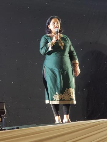MINORITY FRONT SUPPORTS LEOPARD PAW PRODUCTIONS FIRST SINGING REALITY SHOW 'RISING STARS' GRAND FINALE: MF Leader, Hon Shameen Thakur-Rajbansi was guest of honour at the Rising Stars singing reality show. She congratulated all the finalists on their impre
