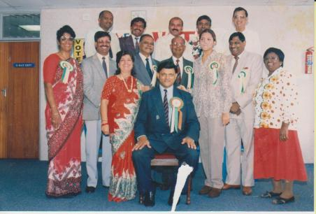 Mr Rajbansi with political photograph 12