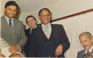 Mr Rajbansi with political photograph 4