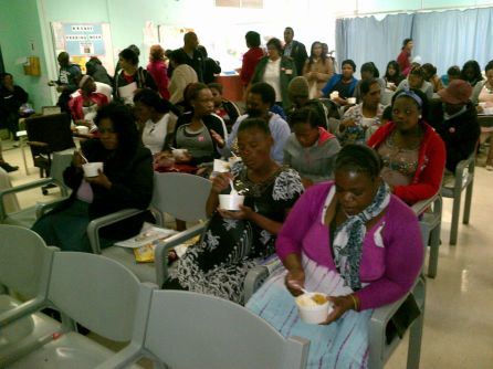 """Antenatal Clinic Receives A Treat For """"Woman's Month"""""""