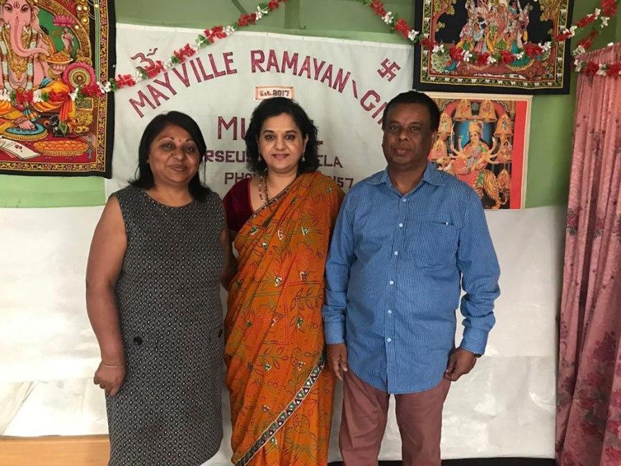 MF Leader Visits Home Mandhir