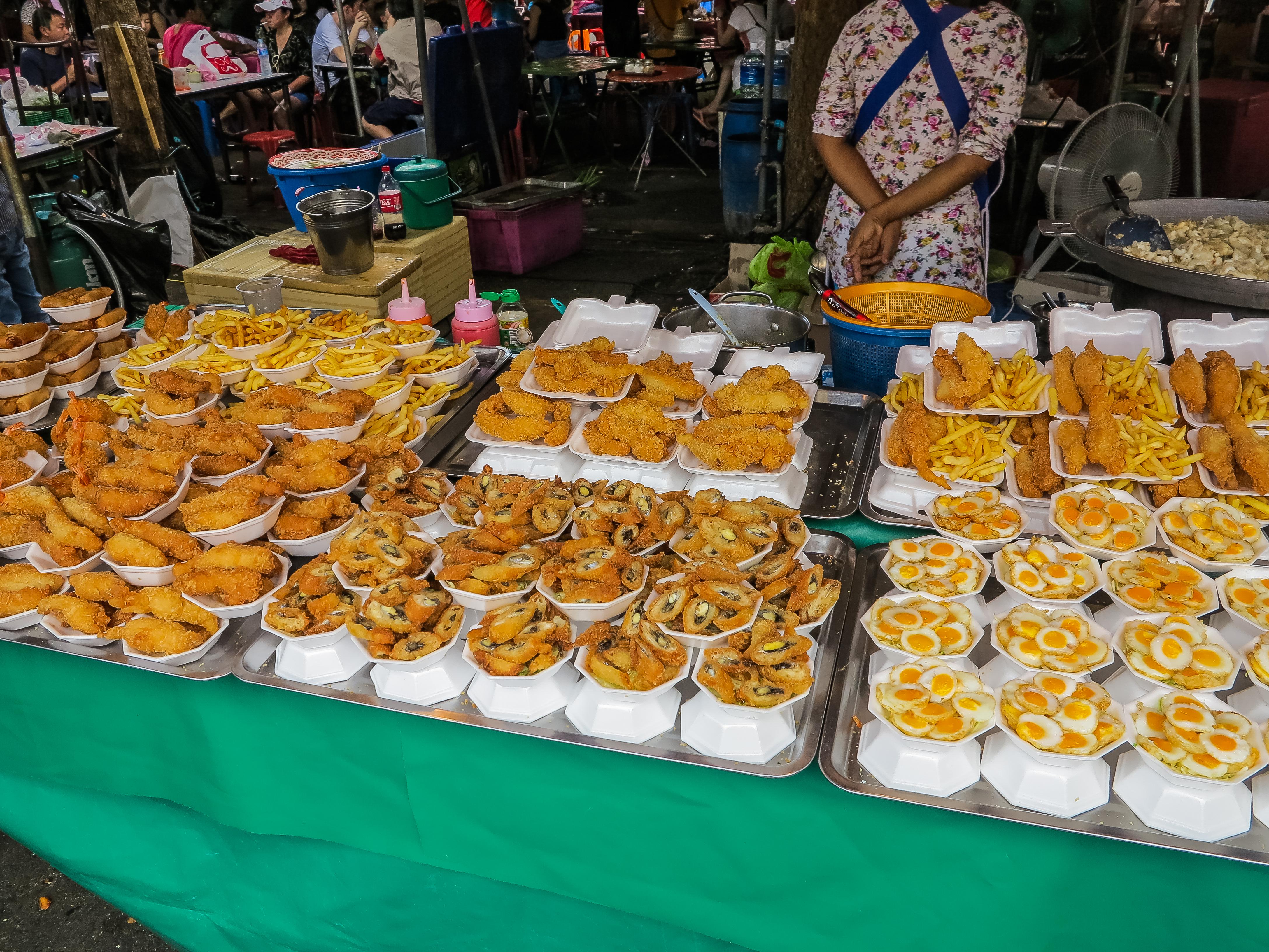 Street Food In Siam Bangkok