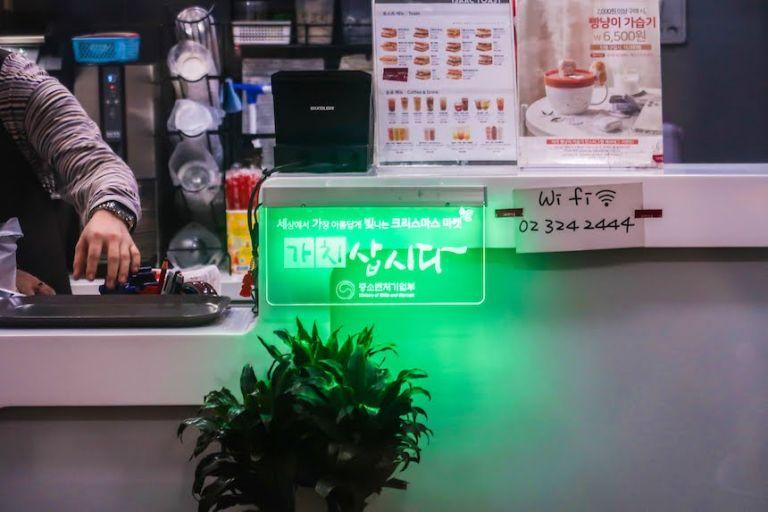 판촉용 소형 LED 사인 저렴한간판 가성비