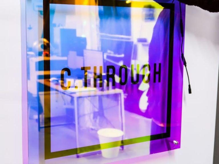 다이크로익 시스루 벽간판 미니간판 카페간판 특이한간판 포인트간판 간판제작비용 미니간판 오로라간판5