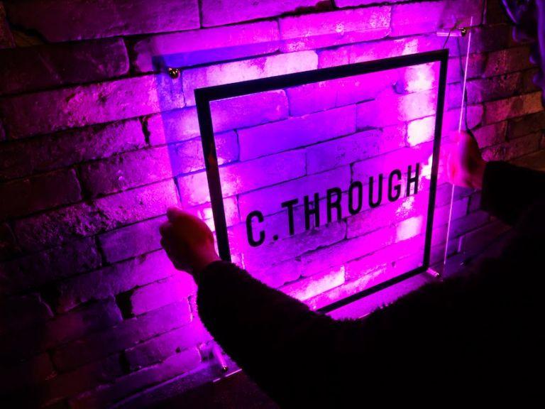 후광간판 LED간판 LED아크릴간판 다이크로익 시스루 카페간판 특이한간판 간판제작비용 미니간판 오로라간판11