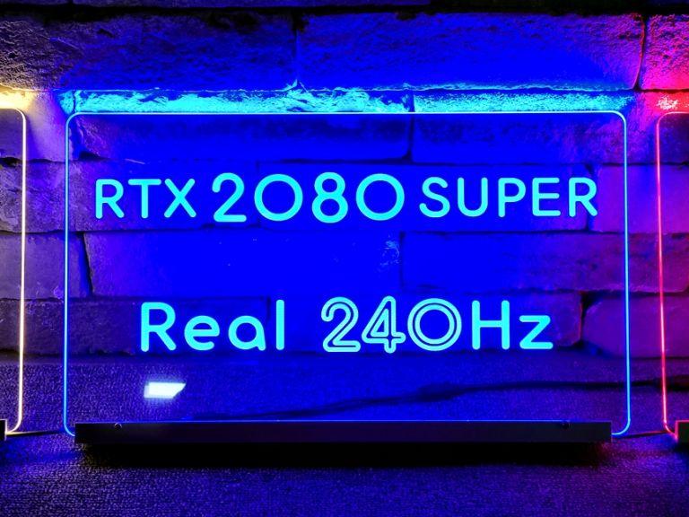 벤큐존 RTX2080 전용석아크릴 02아크릴배너 LED아크릴 PC방인테리어