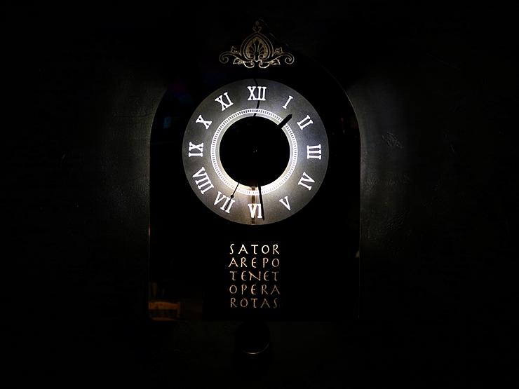 괘종시계 조명 LED 벽시계 014 실내조명 시계 특이한시계 디자인시계 시계선물
