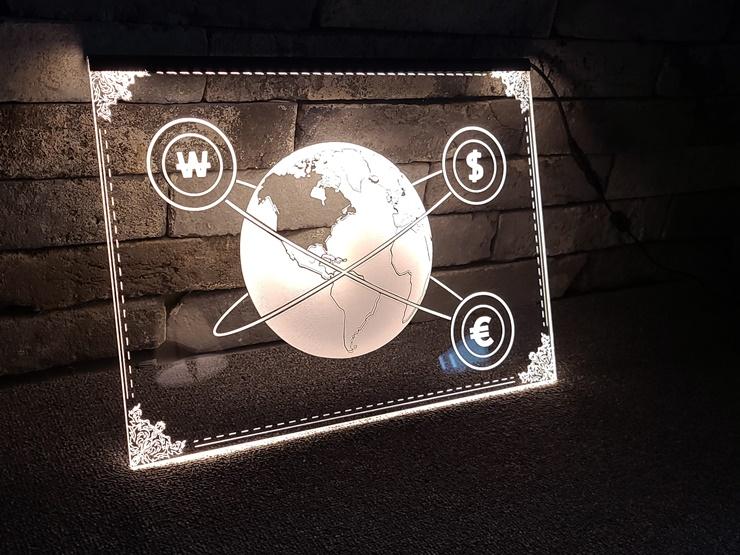 아크릴네온사인 아크릴LED사인 LED아크릴간판 014 실내간판 창문간판 벽간판