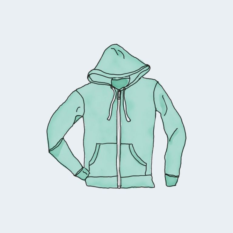 hoodie with zipper 2