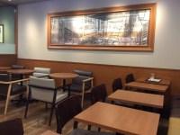 カフェ・ド・クリエ 店内の様子