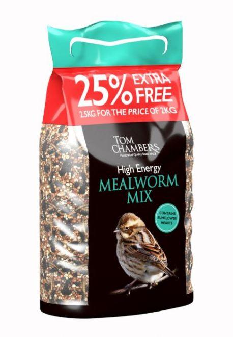 bfc040 high energy mealworm 25 foc 2.5kg