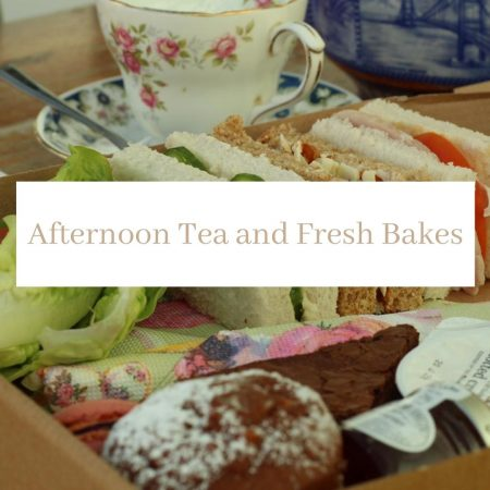 Afternoon Tea and Fresh Bakes