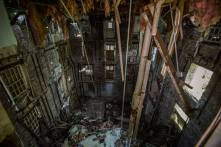 I failed to get a shot of this death-drop interior inside Harrison, so I'm borrowing this shot from one of my travel partners, Gooby Herms.