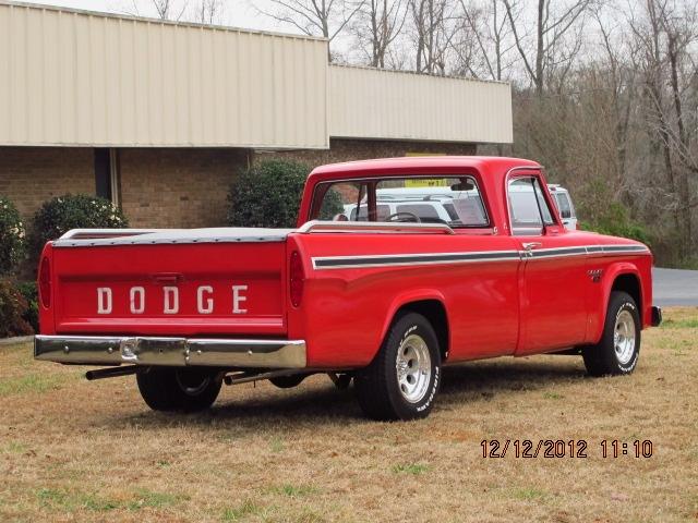 1966 Dodge Truck rear