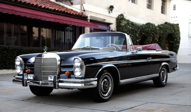 Hollywood producer 67 mercedes benz 300 se cabriolet for Mercedes benz hollywood