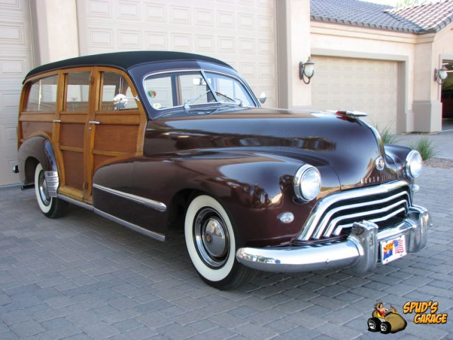 48 Oldsmobile Woodie