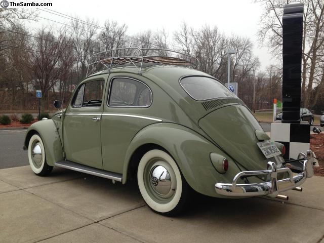 Volkswagen Beetle Sunroof