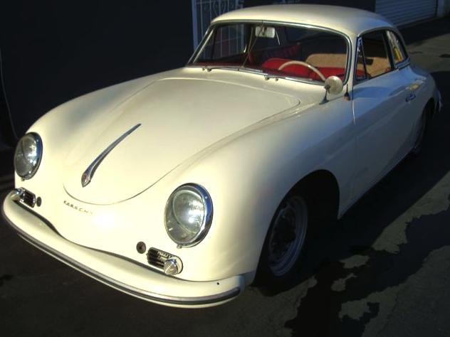 59 Porsche Cabriolet